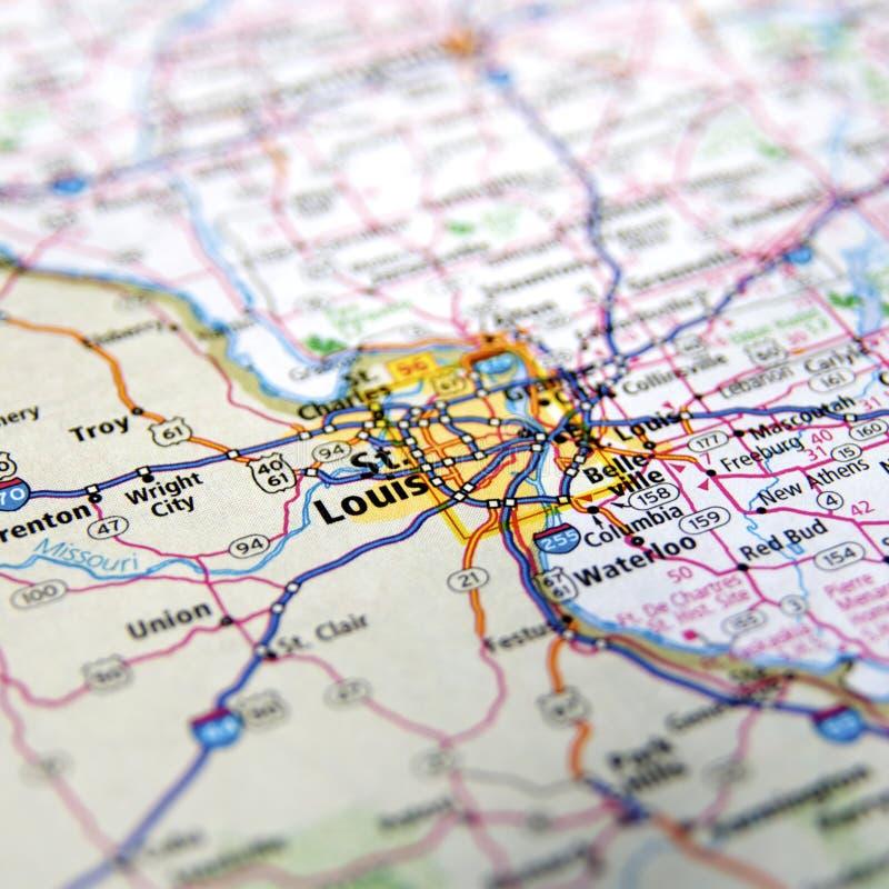 louis w Missouri st zdjęcie stock