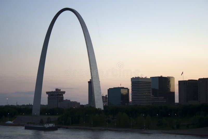 louis w Missouri st. obraz royalty free