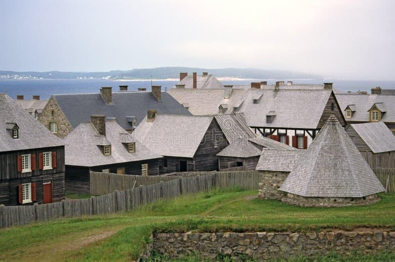 louisbourg стоковое изображение