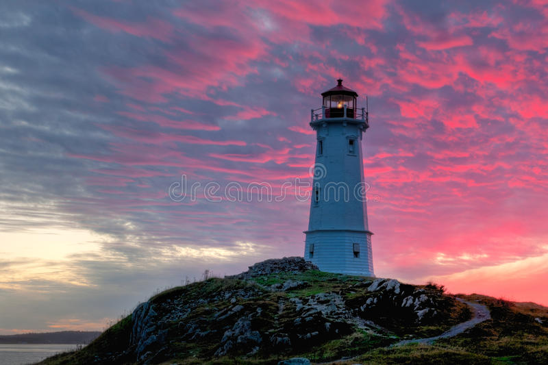 Download Louisbourg Lighthouse stock photo. Image of outdoors - 45757988