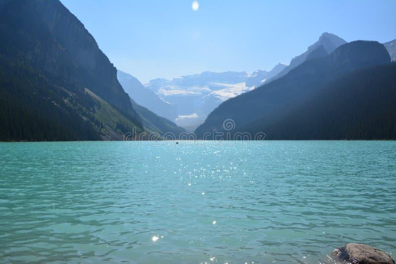 Louise, canada jeziora zdjęcie royalty free