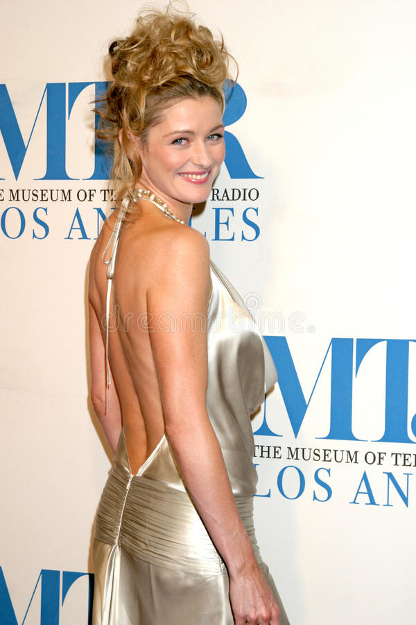 Louise Lombard. Museum of TV & Radio Annual Gala IHO Les Moonves and Jerry Bruckheimer Regent Beverly Wilshire Hotel Beverly Hills, CA October 30, 2006 royalty free stock photography