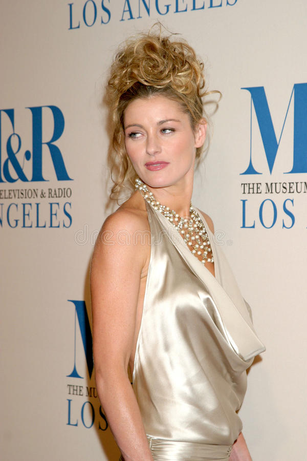 Louise Lombard. Museum of TV & Radio Annual Gala IHO Les Moonves and Jerry Bruckheimer Regent Beverly Wilshire Hotel Beverly Hills, CA October 30, 2006 stock photo