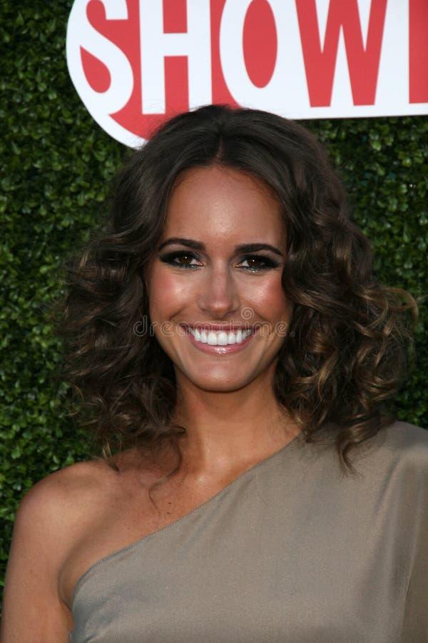 Louise nam bij CBS, CW, de Partij van de Reis van de Pers van de Zomer Showtime, Beverly Hilton Hotel, Beverly Hills, CA. 07-28-10 stock afbeeldingen