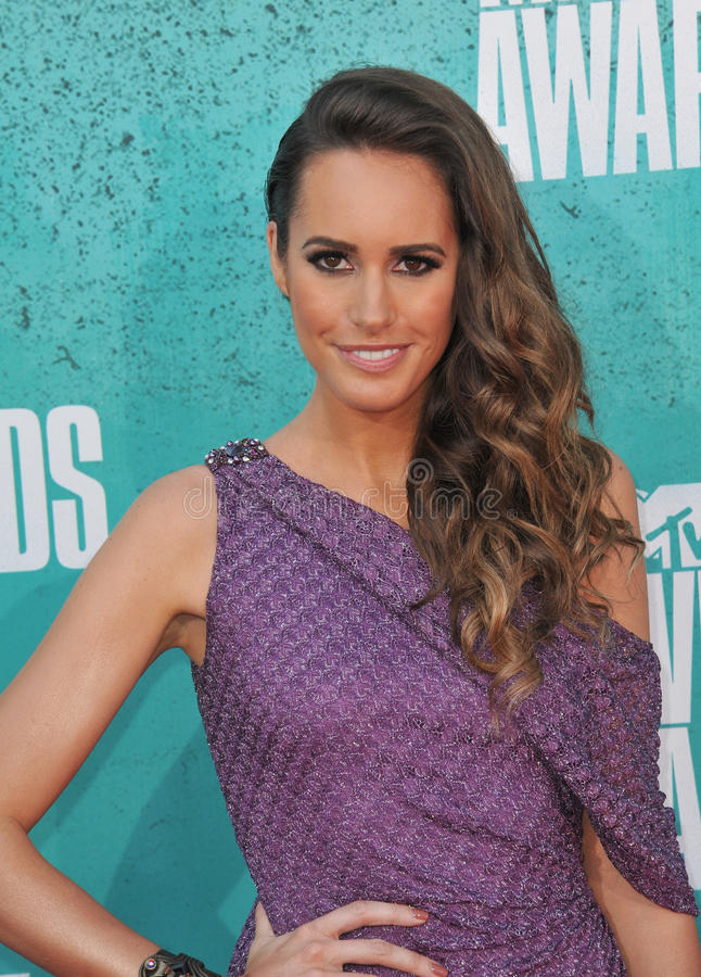 Louise Roe. At the 2012 MTV Movie Awards at Universal Studios, Hollywood. June 4, 2012 Los Angeles, CA Picture: Paul Smith / Featureflash stock image