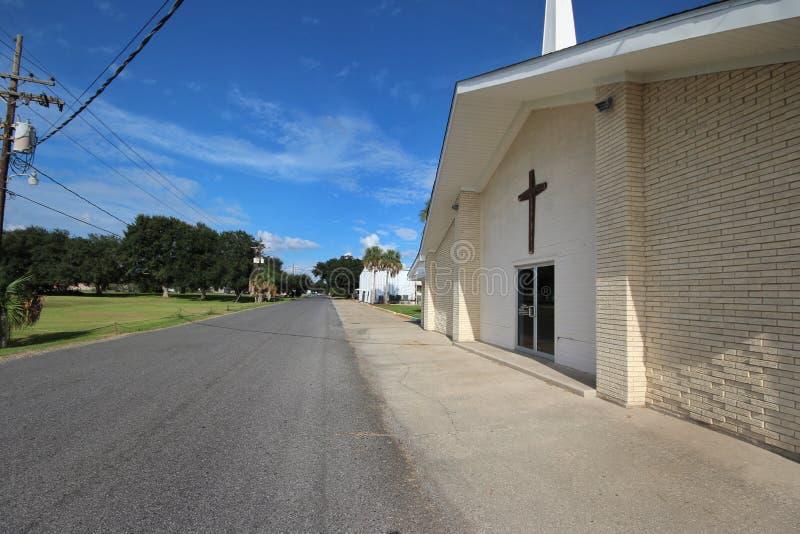 Louisiana Baptist Church foto de stock