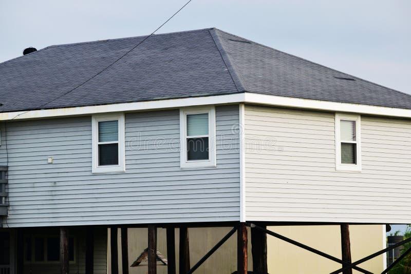 Louisiana-Haus stockbilder