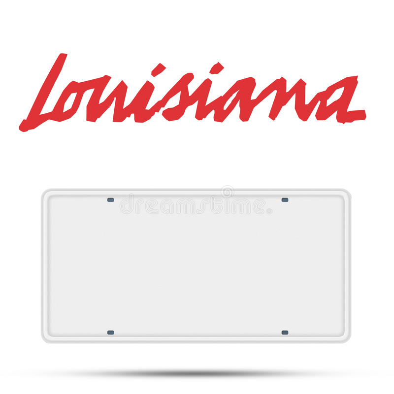 It is a picture of Printable License Plate Template for name tag