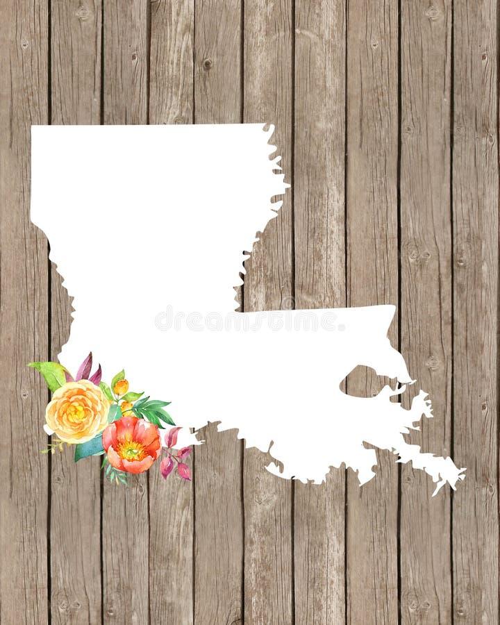 Louisiana-Liebe lizenzfreies stockbild