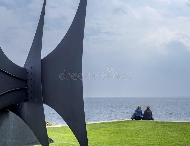 Louisiana Museum of Modern Art Denmark royalty free stock photo