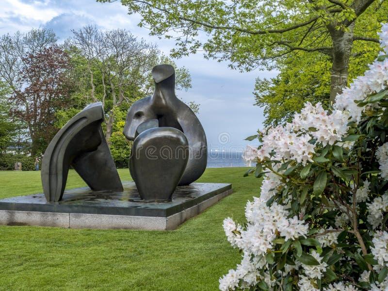 Louisiana Museum of Modern Art Denmark stock photo