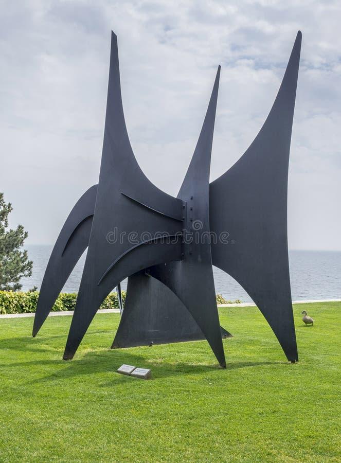 Louisiana-Museum von modernem Art Denmark stockbild