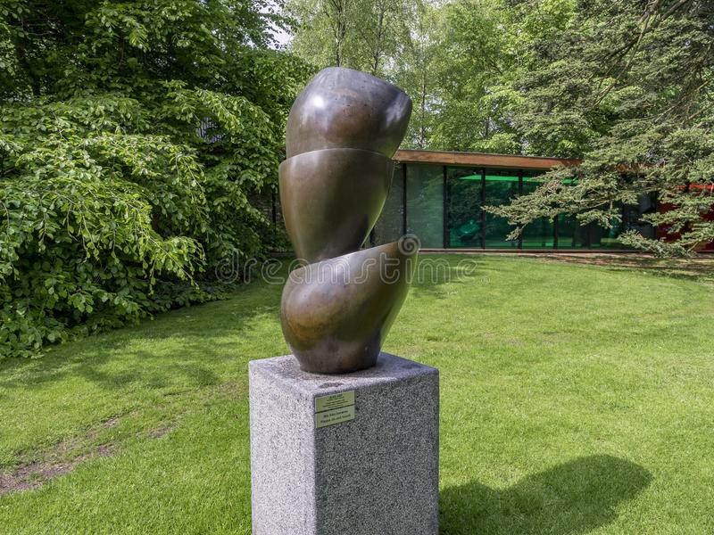 Louisiana-Museum von modernem Art Denmark lizenzfreie stockfotos