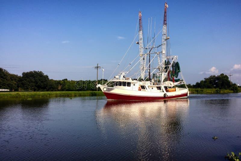 Louisiana Shrimp Boat stock photos