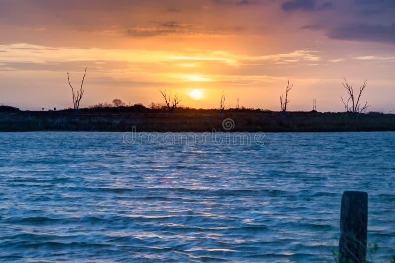 Louisiana soluppgång royaltyfria bilder