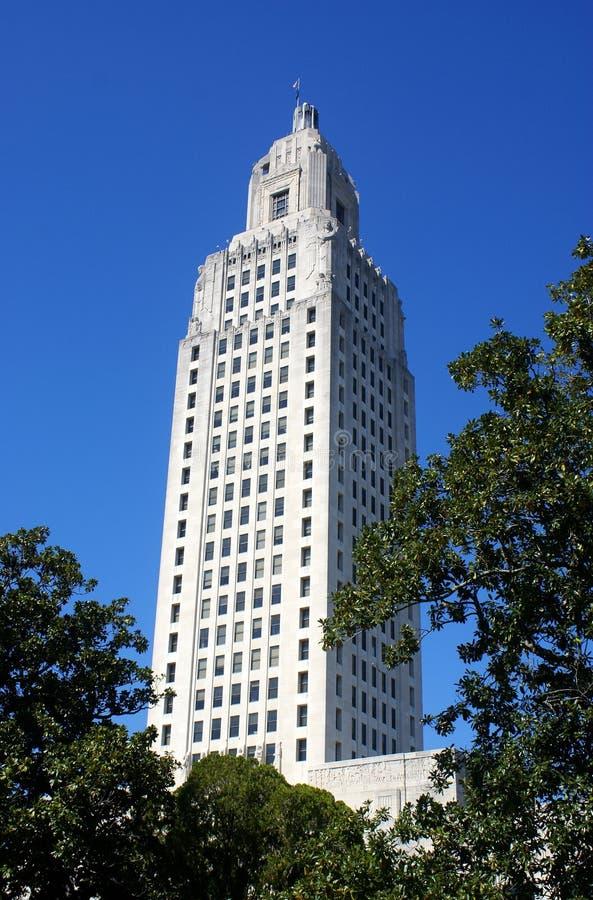 Louisiana State Capital royalty free stock photo