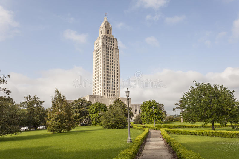 Louisiana State Capitol in Baton Rouge. The Louisiana State Capitol tower in the city of Baton Rouge. Louisiana, United States royalty free stock photo