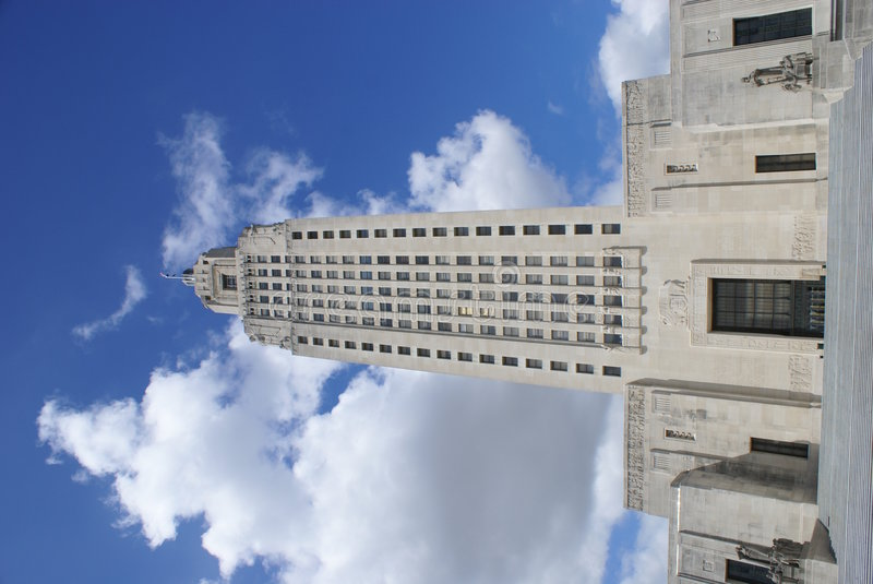 Louisiana State Capitol Building stock image