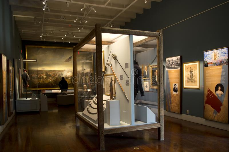 Louisiana State Museum inside view New Orleans royalty free stock photo