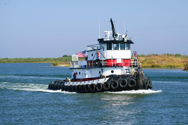 Louisiane Tug Boat stock foto