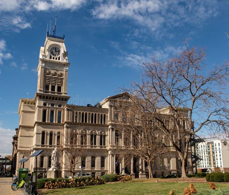 Louisville City Hall. In downtown Louisville, Kentucky stock image