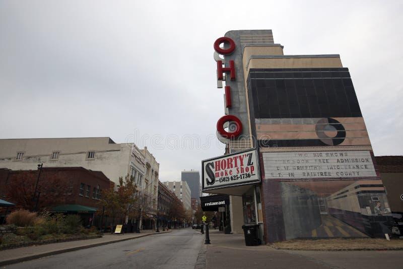Louisville do centro, Kentucky fotos de stock