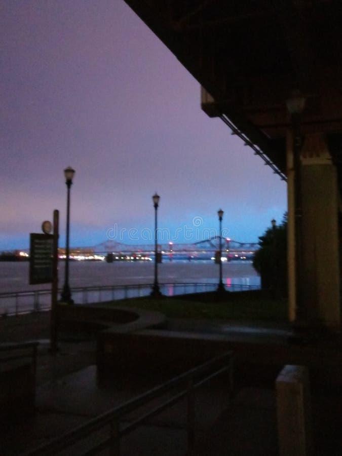 Louisville Kentucky horisont arkivbild