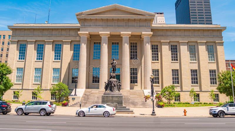 Louisville Metro Hall building - LOUISVILLE. USA - JUNE 14, 2019. Louisville Metro Hall building - LOUISVILLE. KENTUCKY - JUNE 14, 2019 stock photos