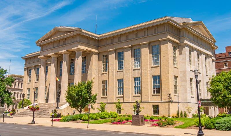 Louisville Metro Hall building - LOUISVILLE. USA - JUNE 14, 2019. Louisville Metro Hall building - LOUISVILLE. KENTUCKY - JUNE 14, 2019 royalty free stock photography