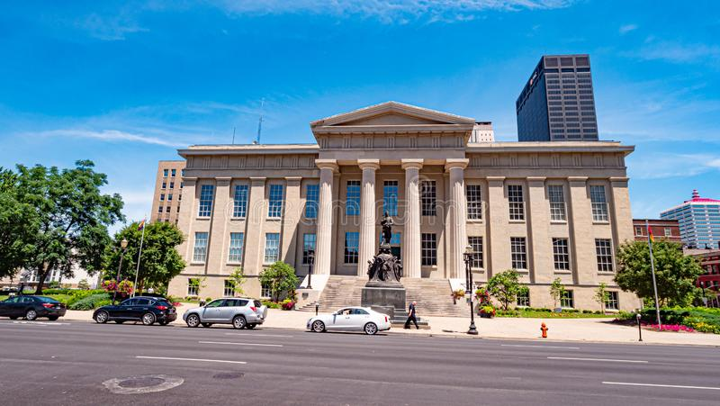 Louisville Metro Hall with Jefferson County Clerk - LOUISVILLE, USA - JUNE 14, 2019. Louisville Metro Hall with Jefferson County Clerk - LOUISVILLE, KENTUCKY stock image
