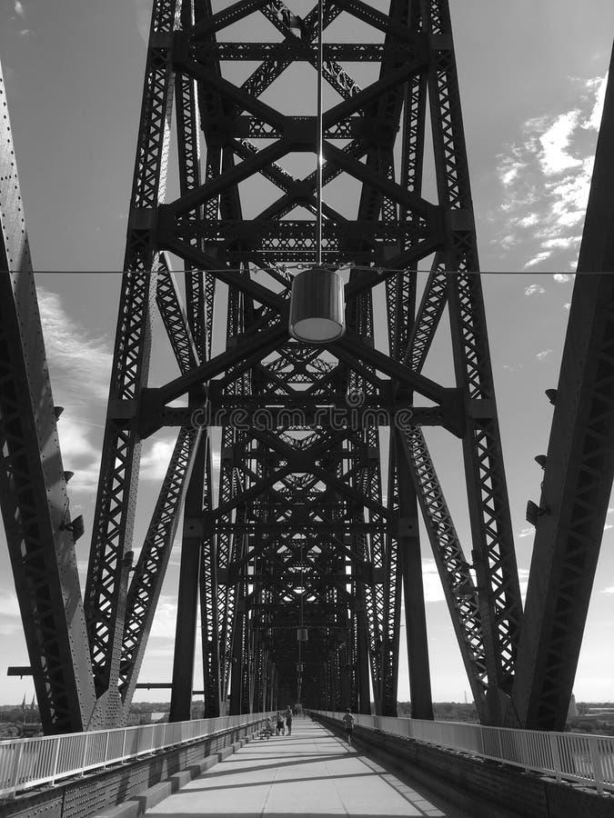 Louisville 2 & x28; Preto e branco & x29; imagem de stock
