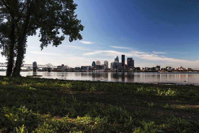 Louisville skyline royalty free stock photography