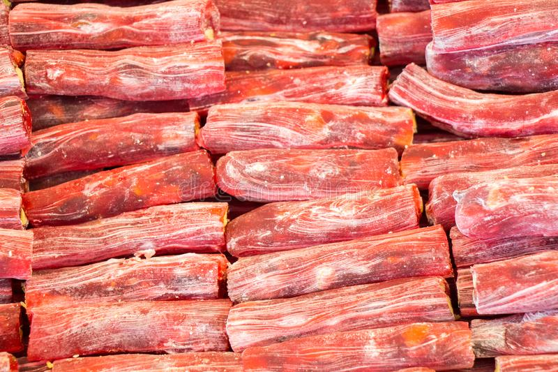 Download Loukoum Tradicional Na Vista Imagem de Stock - Imagem de tasty, tradicional: 107526017