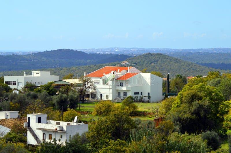 Loule bygd i Portugal royaltyfri foto