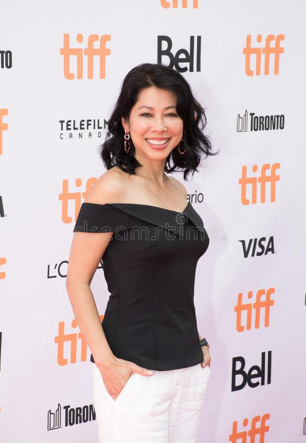 Loung Ung at World Premiere of `First They Killed My Father`. Loung Ung attends the World Premiere of Netflix`s Film`s `First They Killed My Father` during the stock image