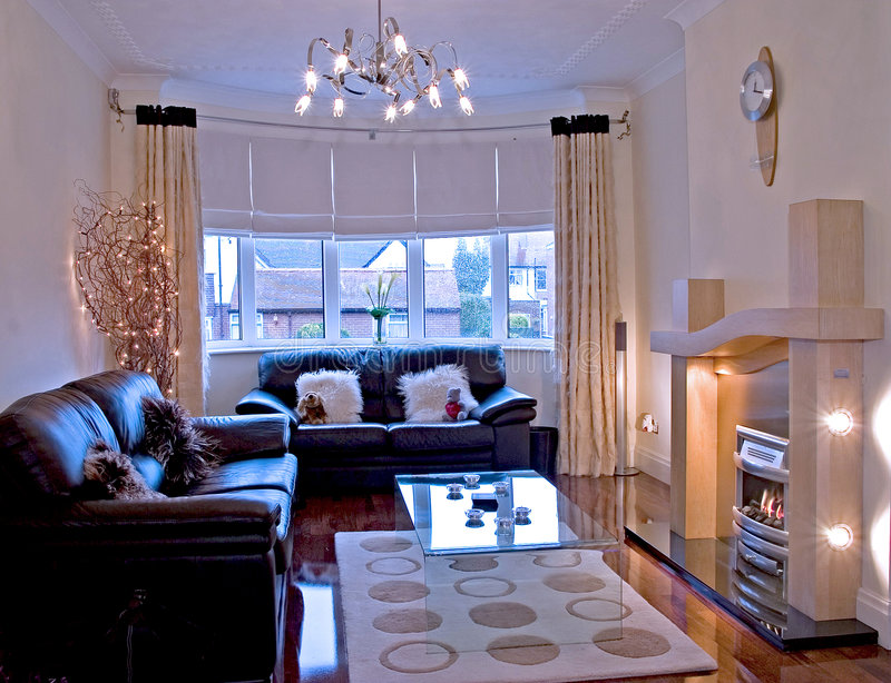 Lounge area royalty free stock photos