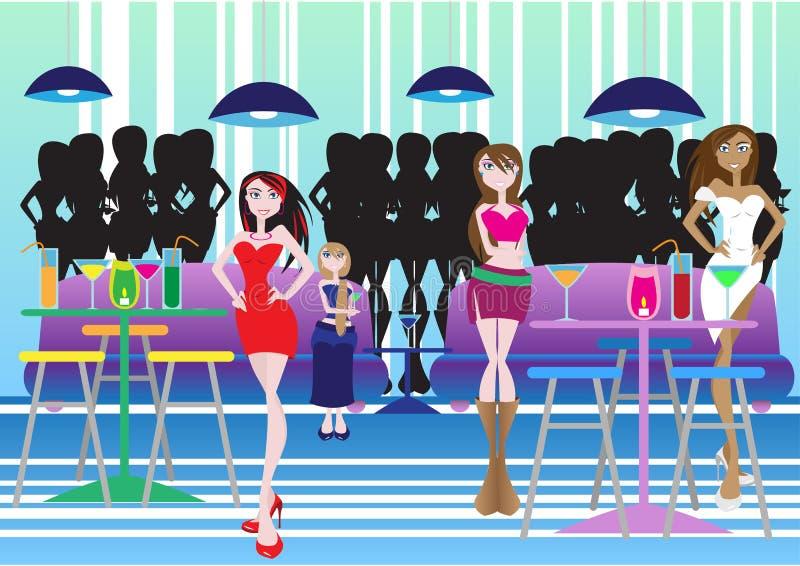 Lounge Bar Stock Photo