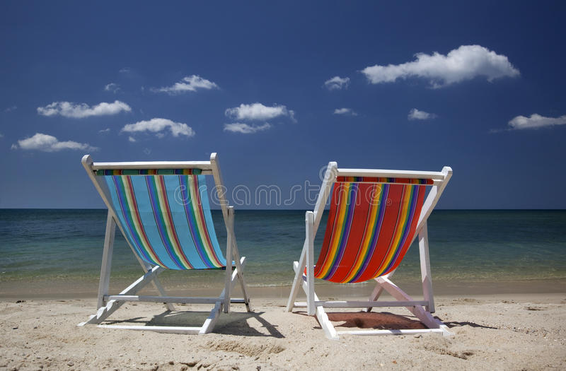 Lounge chair stock photography