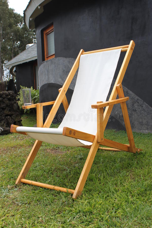 Download Lounge Chair stock photo. Image of chair, black, cabana - 18240048