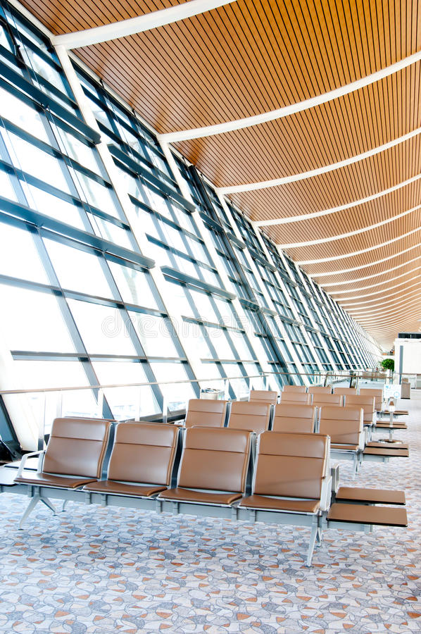 Download Lounge in China airport stock photo. Image of departure - 18955318