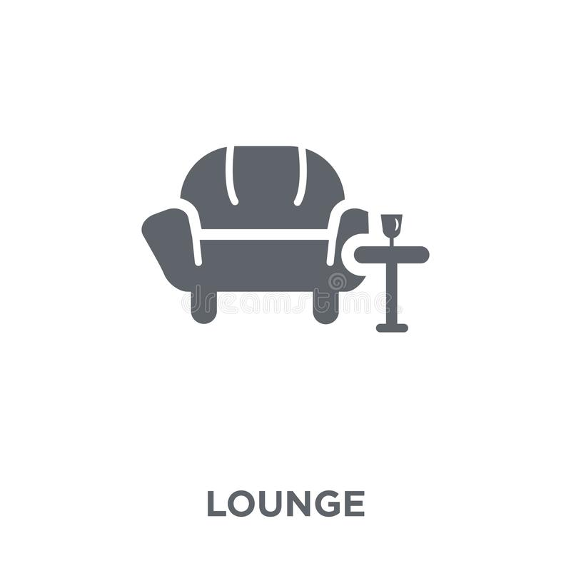 Free Lounge Icon From Hotel Collection. Royalty Free Stock Image - 130329976