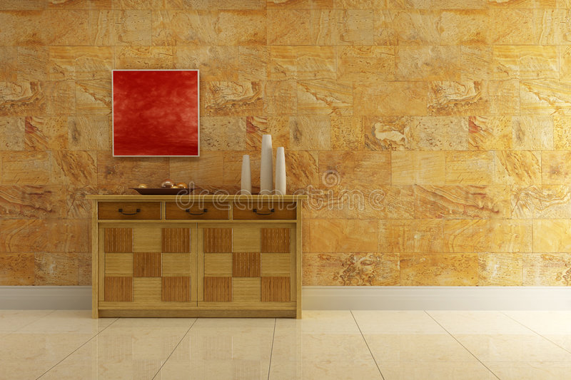 Download Lounge Room With Cupboard Royalty Free Stock Photos - Image: 3426158