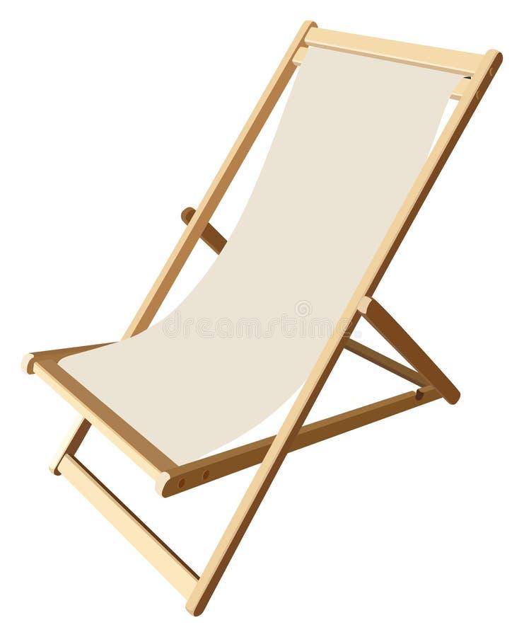 lounger vector illustratie