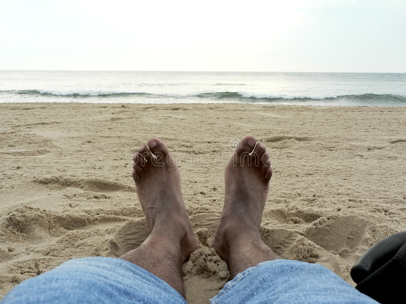 Download Lounging on the beach 3 stock photo. Image of lounge, solitude - 1044146