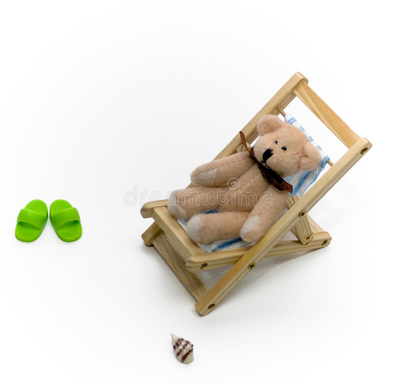 Lounging Bear Stock Images