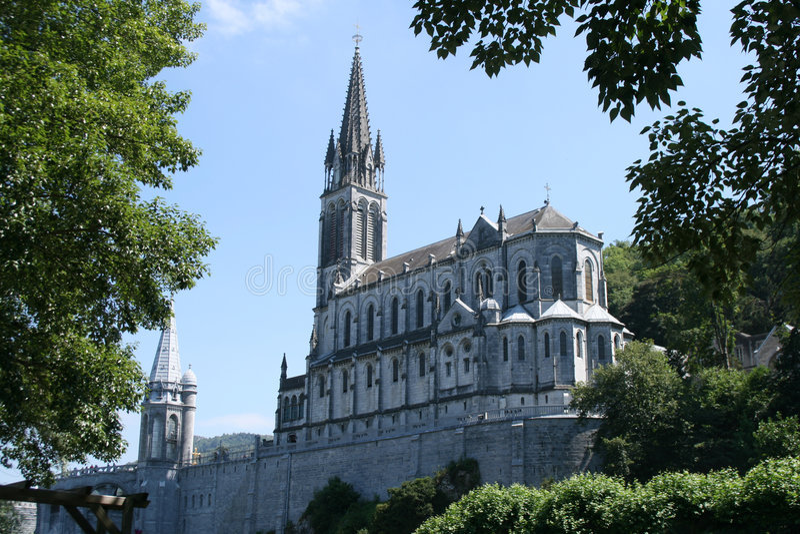 Lourdes photographie stock