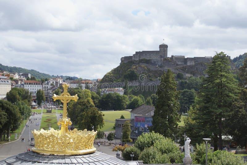 Lourdes images libres de droits