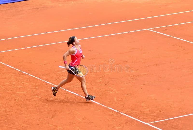 Lourdes Dominguez Lino przy WTA Mutua Otwarty Madryt obrazy royalty free