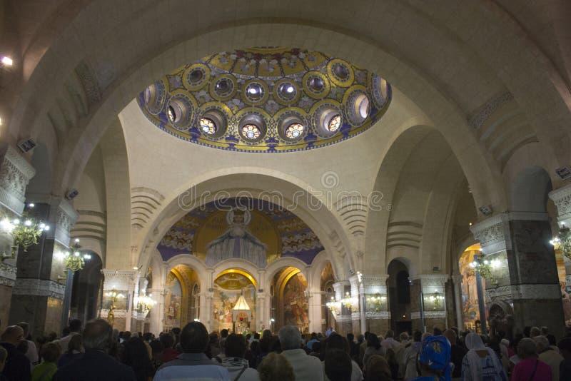 Lourdes, France photo stock