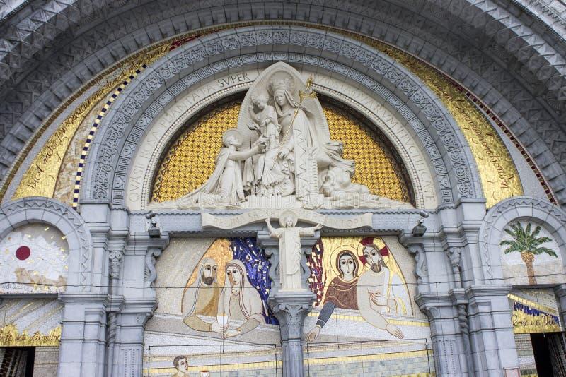 Lourdes, France images libres de droits